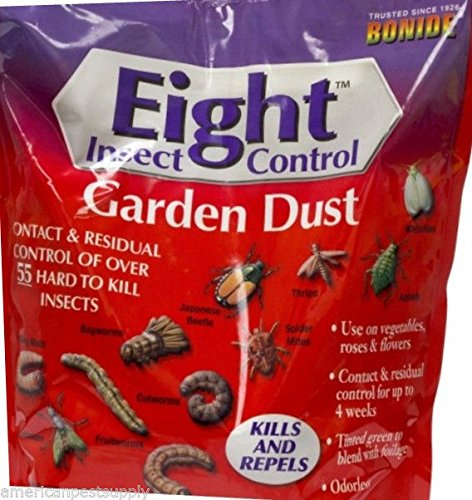 12 Bags Permethrin Insect Garden Dust Roses Flowers Vegetable Gardens 12 Bags''