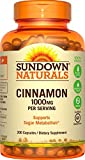 Sundown Naturals Cinnamon 1000 mg, 200 Capsules For Sale
