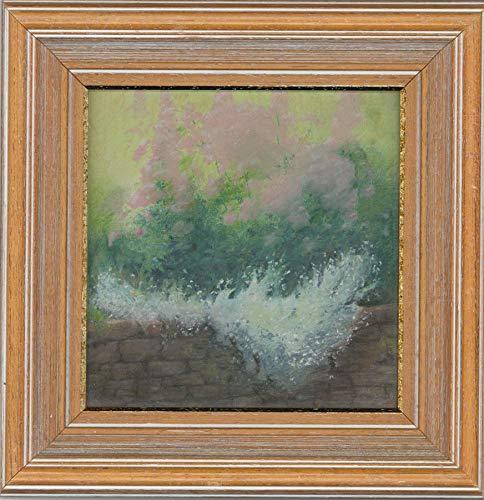 (Anthony Rule - Signed & Framed 1992 Pastel, The Floral Garden)