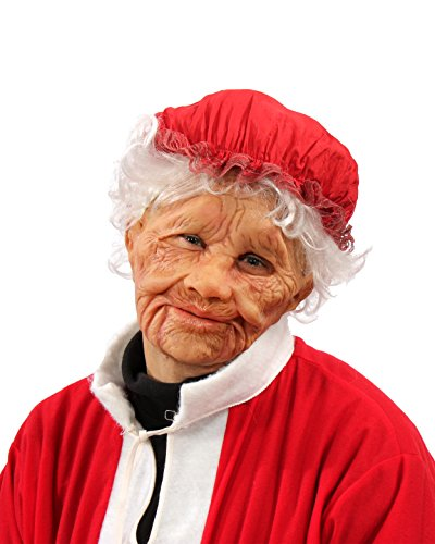 Zagone Studios Mrs. Claus Old Woman Mask -