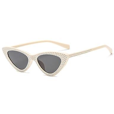 4cb1bfb916 Fashion Sexy Cateye Sunglasses Diamond Sunglasses Women Luxury Eyewear  UV400  Amazon.co.uk  Clothing