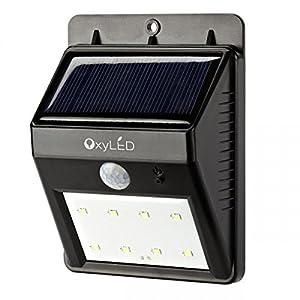 Oxyled oxyled sl30 lampe solaire jardin led sans fil clairage de s curit lumineux exterieur - Eclairage de jardin sans fil ...