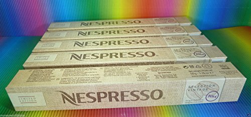 Price comparison product image Nespresso Selection Vintage Origin Colombia 2014 5 sleeves (50 capsules)