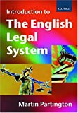 An Introduction to the English Legal System 9780198763833