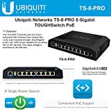 Ubiquiti TS-8-PRO TOUGHSwitch PoE Pro - PoE Switch - 8 Ports - Managed - Desktop