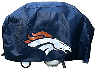 Denver Broncos Grill Cover Deluxe - Licensed NFL Football Merchandise by Sports Collectibles