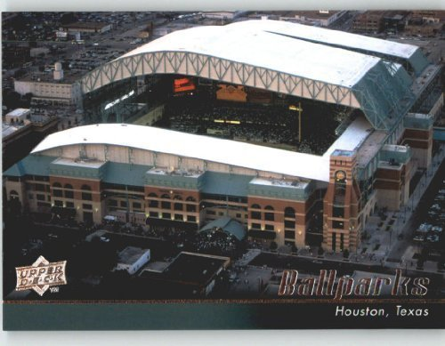 ball Card # 552 Minute Maid Park (Ball Parks) Houston Astros - MLB Trading Card (Upper Deck Used Baseball Cards)