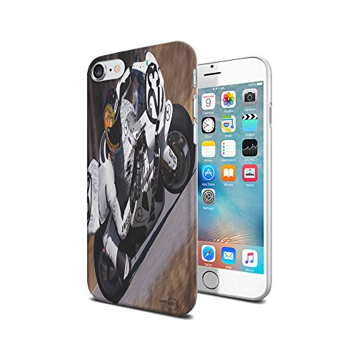- Motorcycle Racing- iPhone 7 Clear Cover Case by Elements of Space