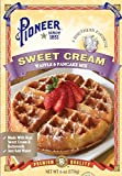Pioneer Sweet Cream Waffle Mix, 6 oz (Pack of 12)