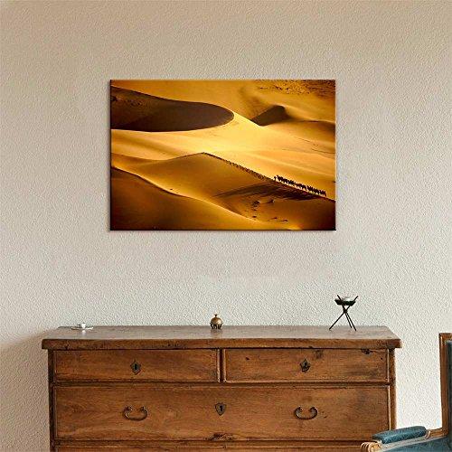 Beautiful Scenery Landscape Caravans in The Desert Wall Decor