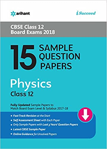 arihant sample paper class 10 science pdf download