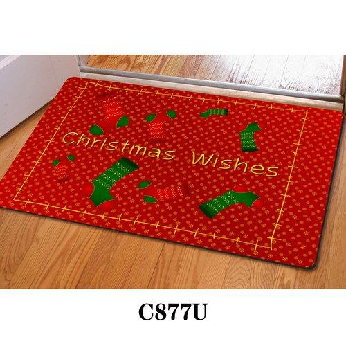ce Home Decor Carpet Indoor Rectangle Doormat Kitchen Floor Runner Outdoor Door Mats Non Slip Door Mat for Small Front Door Inside (Cardinals Runner Mat)