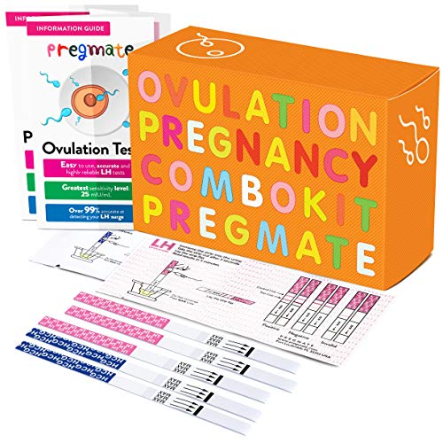 PREGMATE 30 Ovulation LH and 10 Pregnancy HCG Test Strips Pr