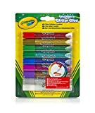 Crayola Washable Glitter Glue Pens, 9