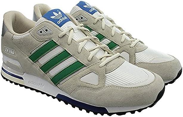 adidas zx 750 white green chalk white gr 42