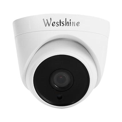 """Westshine 720P CCTV Dome Cámara de Vigilancia Domo Cámara de seguridad, 1/4"""""""