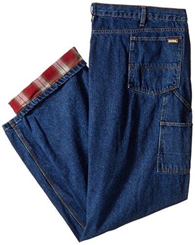Berne Men's Big-Tall Original Flannel Lined Dungarees, Blue, (Flannel Lined Dungaree)