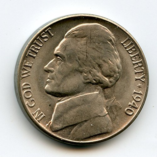 1940 D Jefferson Nickel MS-65