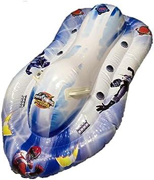 Moto de agua hinchable Power Rangers 120 x 74 cm playa piscina * 07650: Amazon.es: Juguetes y juegos