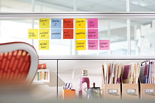 Post-it Super Sticky Notes, 3 in x 3 in, Marrakesh Collection, 24 Pads/Pack, 70 Sheets/Pad, Cabinet Pack (654-24SSAN-CP) Photo #2