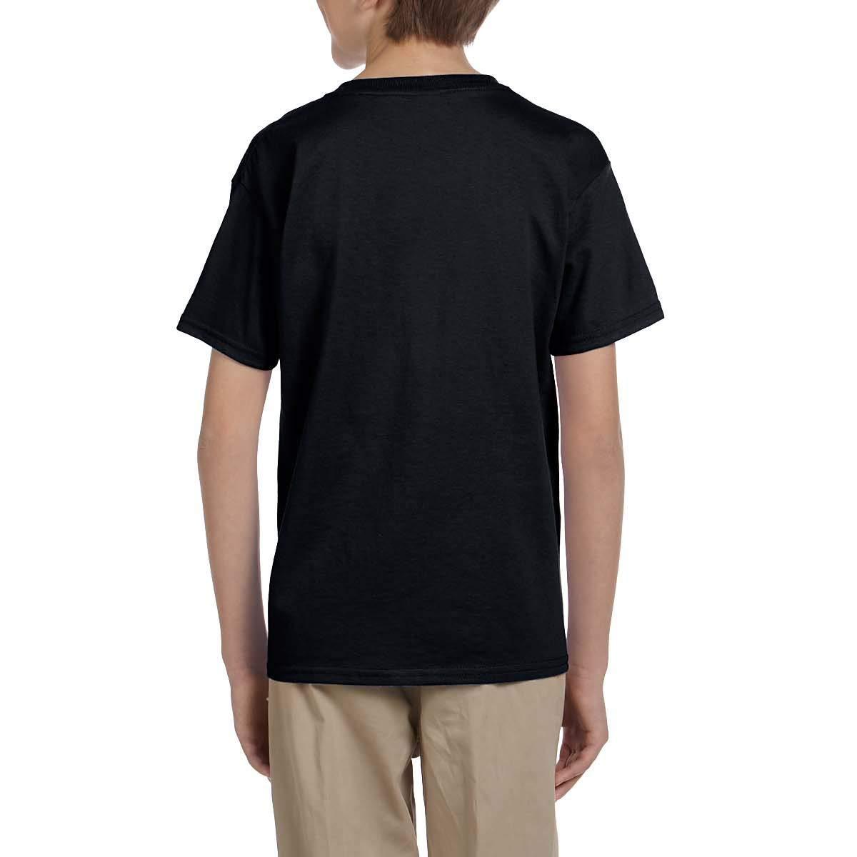 PHD BRU-NO Jurassic Park Youth Kids Cotton T-Shirts Summer Slim-fit Printed Fashion Tee