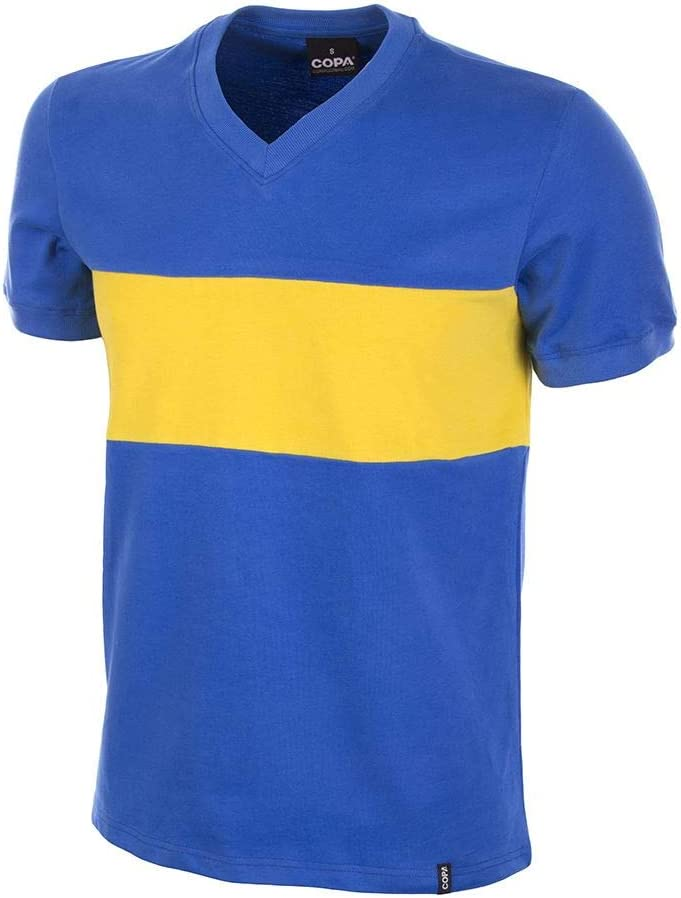 Copa Football - Camiseta Retro Boca Juniors años 1960 (L)