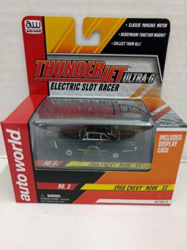 Scale Electric Slot Car - Auto World SC314 1966 Chevy Nova SS ThunderJet Ultra-G HO Scale Electric Slot Car