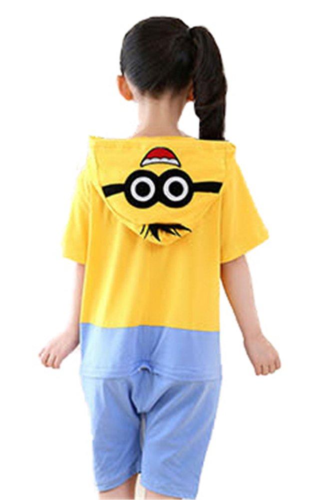 LaBelle-H Unisexo Kigurumi Pijamas Para Niño Niña Disfraces Animales Vestidos De Cosplay Halloween Pyjamas Animales Por Verano-DWSYC15-L: Amazon.es: ...