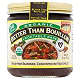 Better Than Bouillon Organic Seasoned Vegetable Base, 8 oz.