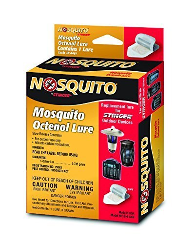 Insect Lure - Nosquito Mosquito Octenol Replacement Lures - Kaz Stinger Insect Killer Lures - 3 Pack