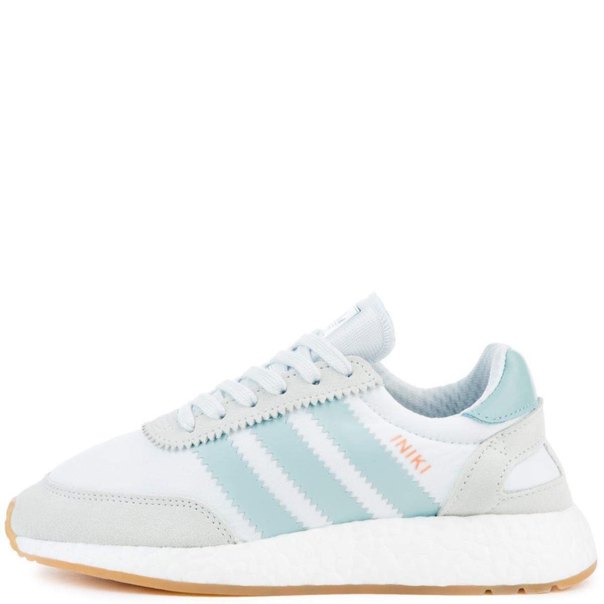 99c30246ccb35 Adidas Womens INIKI RUNNER W WHT/TACGRN/GUM3 LACE UP 10
