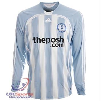 Adidas Peterborough United Muy Raro Edición Ltd 50 Liga Años Camiseta De Fútbol - 2XS Junior 28-30: Amazon.es: Deportes y aire libre