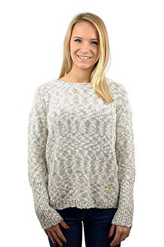 Superdry pour femme Super Icarus en tricot Blanc de Lurex