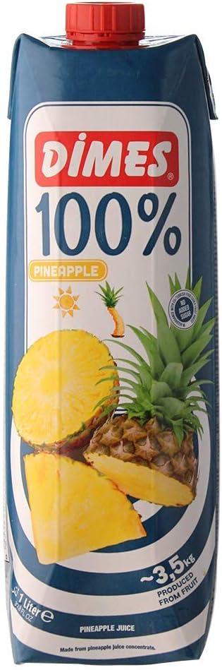 ディメス パインアップルジュース 果汁100%(濃縮還元) 1L×12本