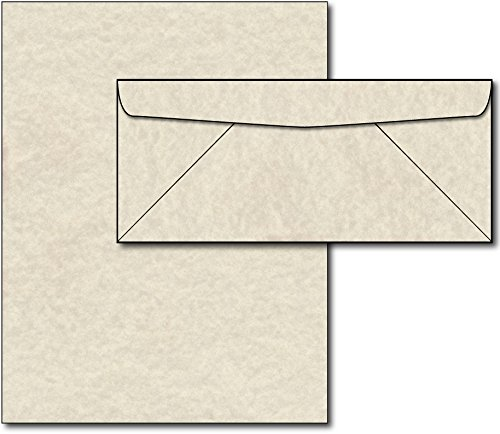Natural Parchment Paper & Envelopes - 40 Sets]()