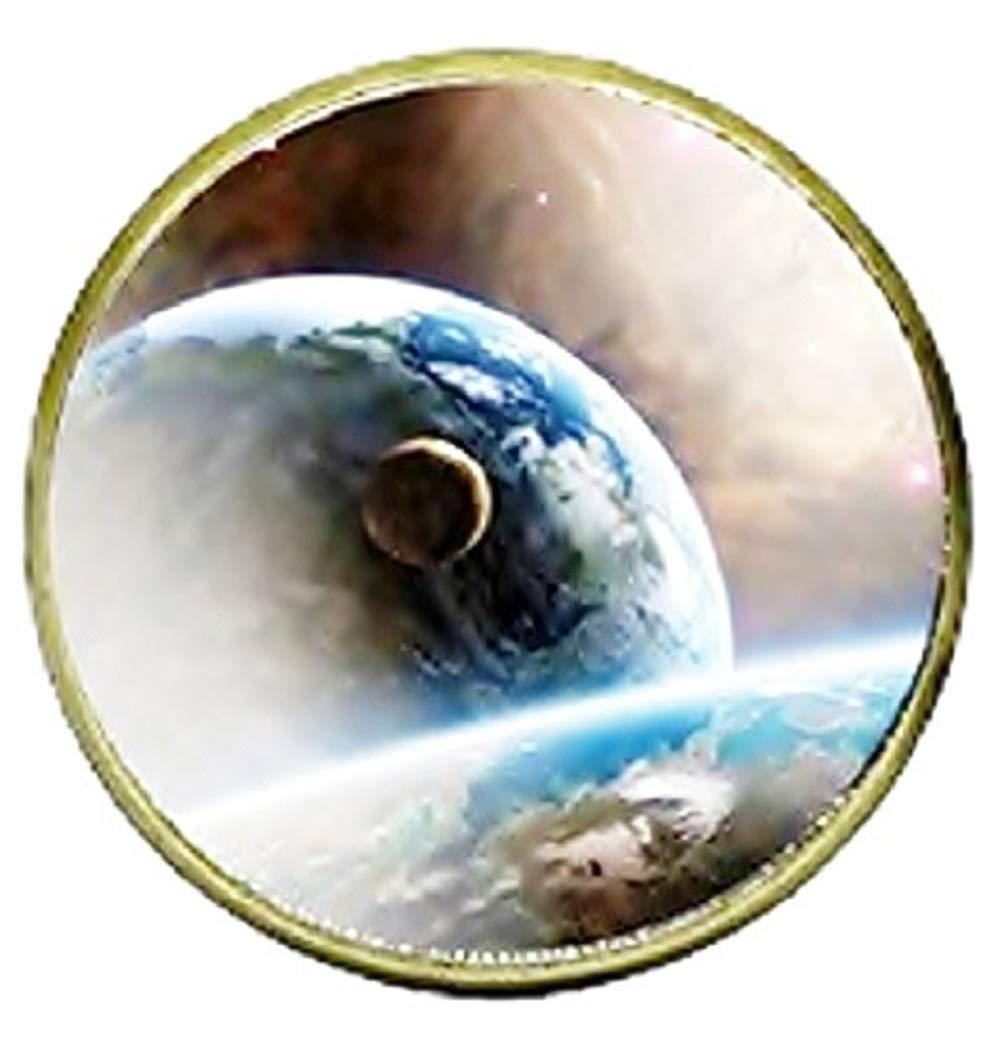 Inception Pro Infinite Cabochon Anneaux avec Image de la Galaxie - Taille Réglable - Idée Cadeau 793596081118