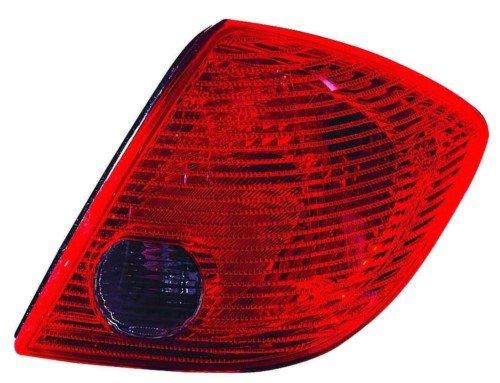 Pontiac Tail Light Assembly - Pontiac G6 Sedan Replacement Tail Light Assembly - Passenger Side