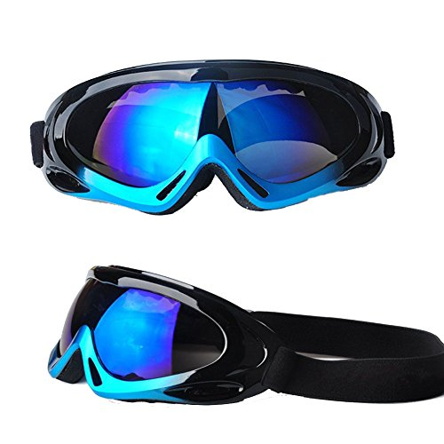 Feier Yusi Adult Professional Ski Goggles Snowmobile Snowboard Skate Snow Skiing Goggles with one hundred% UV400 Protection Bright lens TPC Frame Material Anti Sand Wind & UV Suitable Hiking Surfing Skiing – DiZiSports Store
