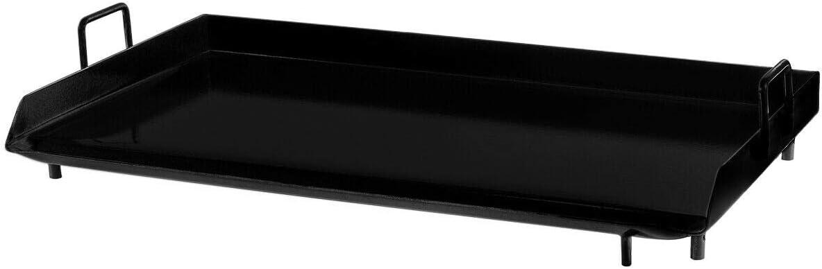 Cypress Shop Grille à gaz plat pour extérieur 80 x 45 cm