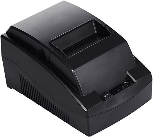 Negaor ポータブルサーマルプリンターPOSプリンター58mmサーマルレシートプリンターレストランスーパーマーケットレシートプリンター米国プラグ