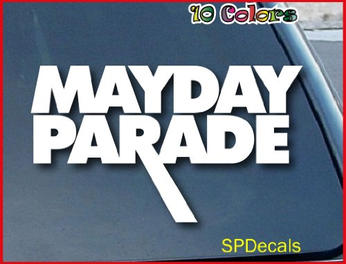 Mayday Parade Music Band Car Window Vinyl Decal Sticker 6