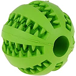 7 cm Dog Toy Compatible Rubber Ball Pet Dog Cat Puppy ElasticityTeeth Shade Dog Chew Toy Glasses Toothpaste
