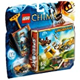 LEGO Legends of Chima - Speedorz - 70108 - Jeu de Construction - L' attaque du Nid Royal