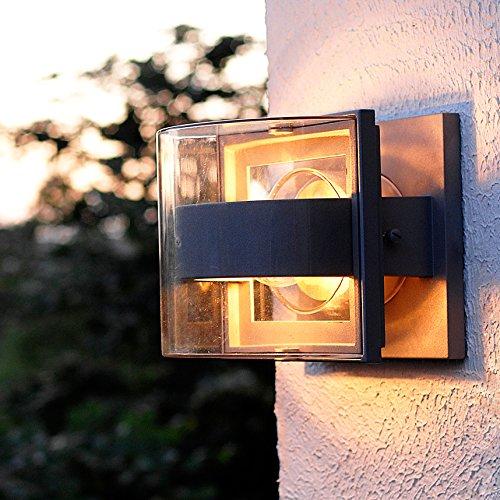 Extérieure Light Moderne Applique D Eco Lumière Murale Delta Qsrthd