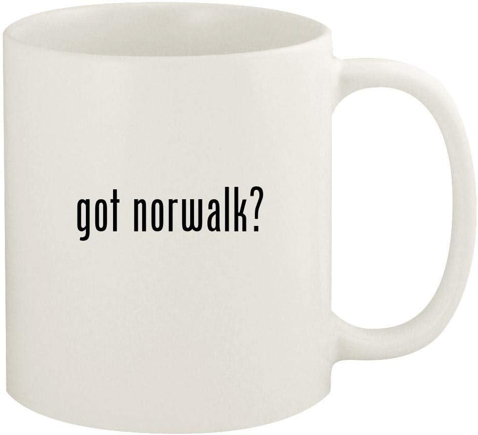 got norwalk? - 11oz Ceramic White Coffee Mug Cup, White