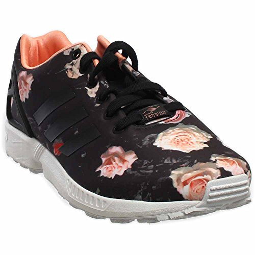 best cheap 8c802 4e467 Adidas ZX Flux Women s Shoes Carbon Black Semi Flash Orange b34010 (11 B(M)  US) - Buy Online in UAE.   Apparel Products in the UAE - See Prices, ...