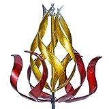 Win Wind Spinner-Way Giant 28 Inch Diameter Wind Spinner - Multicolor 3D Kinetic