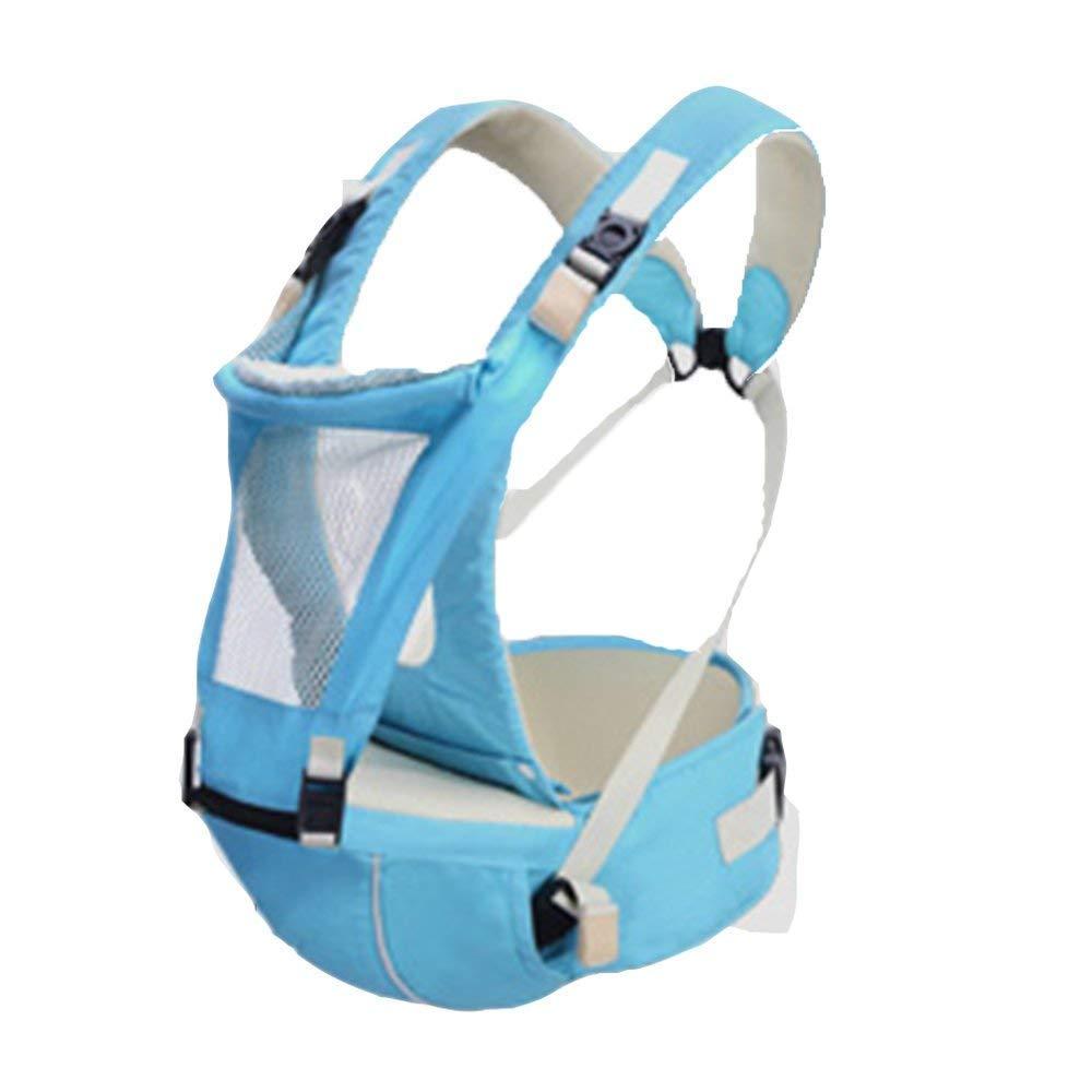 Udxvsdfhd Portantina per Bebè Marsupio Marsupio Staccabile Marsupio Multifunzionale Marsupio Universale a Quattro Anni Marsupi Frontali (colore   Blu)