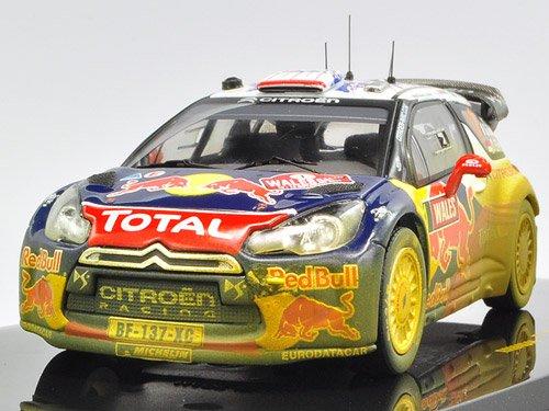 1/43 シエトロンDS3 2011年WRCウェールズGBラリーNo.1 汚れ仕様 ドライバー:S.Loeb-S.Elena 「モダンラリーカーシリーズ」 RAM464A