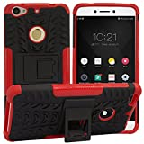 DMG Rugged Back Cover Kickstand Armor Case for LeEco Le 1S / LeTV Le 1S (Red)